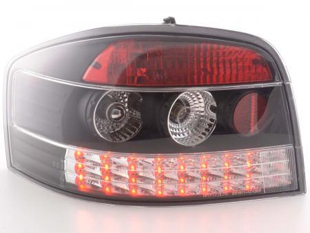 LED Rückleuchten Audi A3 Typ 8P Bj. 03-05 schwarz