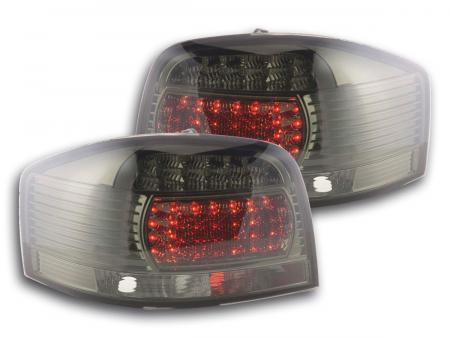 LED Rückleuchten Audi A3 Typ 8P Bj. 03-07 schwarz