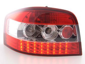 LED Rückleuchten Audi A3 Typ 8P Bj. 03-05 klar/rot
