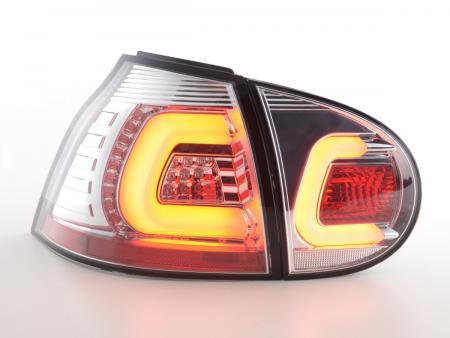 Led Rückleuchten VW Golf 5 Bj. 03-08 chrom