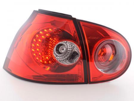 Led R�ckleuchten VW Golf 5 Typ 1K Bj. 2003-2008 rot