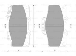 Hauptbremszylinder BOSCH (0 204 123 720), FIAT, WESTFALIA, PEUGEOT, CITROEN, Ducato Bus, Ducato Pritsche/Fahrgestell, Boxer Bus, Jumper Bus, Ducato Kasten, Boxer Pritsche/Fahrgestell