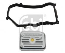 Hydraulikfiltersatz, Automatikgetriebe FEBI BILSTEIN (33945), VW, AUDI, Passat, Passat Variant, A6, A6 Avant, A4 Avant, Coupe, 100, 80, 80 Avant, 100 Avant, Cabriolet, A4