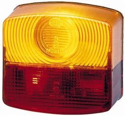 Lichtscheibe, Heckleuchte HELLA (9EL 118 614-011)
