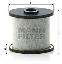 Filter, Kurbelgehäuseentlüftung MANN-FILTER (C 911 x-2)