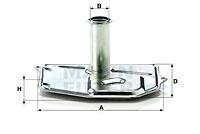 Hydraulikfilter, Automatikgetriebe MANN-FILTER (H 187/1)