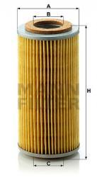 Ölfilter MANN-FILTER (H 804 x)
