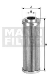 Hydraulikfilter, Lenkung MANN-FILTER (HD 45)