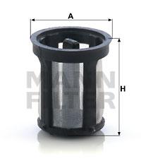 Harnstofffilter MANN-FILTER (U 1002 (10))