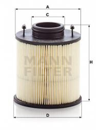 Harnstofffilter MANN-FILTER (U 620/4 y KIT)