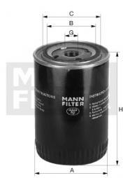 Hydraulikfilter, Automatikgetriebe MANN-FILTER (W 1374/2)