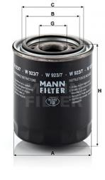 Hydraulikfilter, Automatikgetriebe MANN-FILTER (W 923/7)
