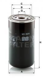 Hydraulikfilter, Automatikgetriebe MANN-FILTER (WD 950/4)