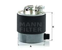 Kraftstofffilter MANN-FILTER (WK 920/7), NISSAN, Murano II, Qashqai +2 I