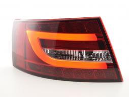 LED Rückleuchten Set Lightbar Audi A6 4F Limo Bj. 04-08 rot/klar