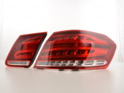 LED Rückleuchten Set Mercedes Benz E-Klasse Limo W212  ab 2013 rot/klar
