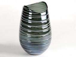 Design Vase Stripe 7, blau