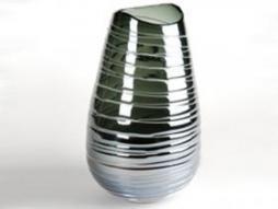 Design Vase Stripe 9, blau