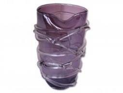 Design Vase Amber, flieder