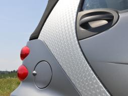 Auto Folie 3D transparent selbstklebend 1 Rolle = 1,52m x 15m