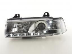 Scheinwerfer Daylight Set gebraucht Tagfahrlicht BMW 3er E36 Limo. chrom