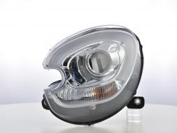 Scheinwerfer Set Xenon Daylight LED TFL-Optik Mini Countryman R60  10-17 chrom