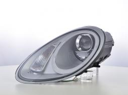 Scheinwerfer Set Daylight LED TFL-Optik Porsche Boxster Typ 987  04-09 silber