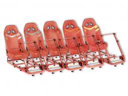 FK Gamesitz Spielsitz Rennsimulator eGaming Seats Monza [verschiedene Farben]