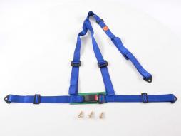 Hosenträgergurt 3-Punkt Gurt Renngurt universal blau