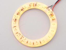 Leuchtring LED für Lautsprecher, gelb