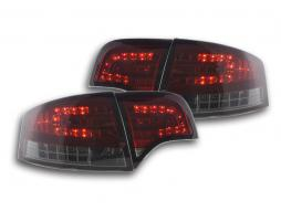 LED Rückleuchten Set Audi A4 Limousine Typ 8E Bj. 04-07 rot/schwarz