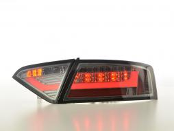 LED Rückleuchten Set Lightbar Audi A5 8T Coupe/Sportback Bj. 07-11 smoke