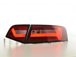 LED Rückleuchten Set Audi A6 4F Limousine Bj. 08-11 rot/klar