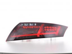 LED Rückleuchten Set Lightbar Audi TT 8J Bj. 06-14 rot/smoke