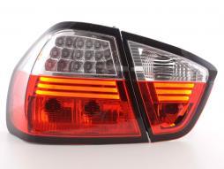 LED Rückleuchten Set BMW 3er Limousine Typ E90  05-08 klar/rot