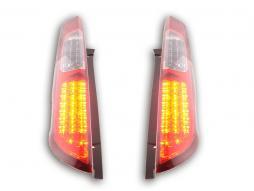 LED Rückleuchten Set Ford Focus 2 5-türig  04-08 rot/klar