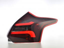 LED Rückleuchten gebraucht Ford Focus 3 Schrägheck Bj. 11-14 rot/smoke