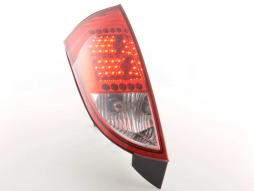LED Rückleuchten Set Ford Focus 1 3/5-türig Bj. 98-04 rot