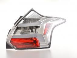 LED Rückleuchten Set Lightbar Ford Focus 3  10-14 chrom