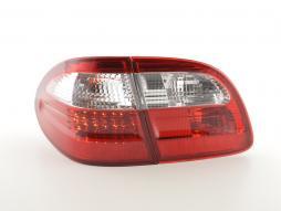 Rückleuchten LED gebraucht Mercedes E-Klasse Kombi (210) Bj. 99-03 rot/klar
