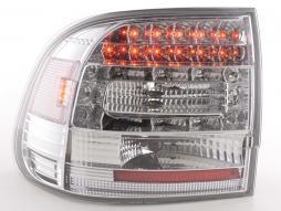 LED Rückleuchten Set Porsche Cayenne Typ 955  02-06 chrom