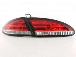 LED Rückleuchten Set Seat Leon Typ 1P Bj. 05-09 rot/klar
