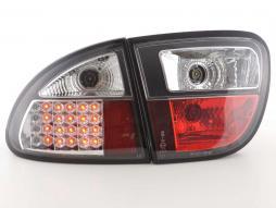 LED Rückleuchten Set Seat Leon Typ 1M Bj. 1999-2005 schwarz