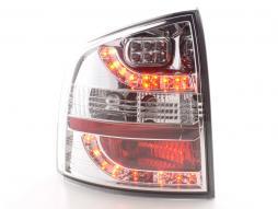 LED Rückleuchten Set Skoda Octavia Combi Typ 1Z  05-12 chrom