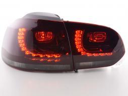 Rückleuchten Set gebraucht LED VW Golf 6, rot/schwarz