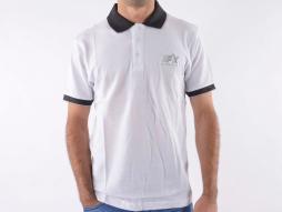 Poloshirt, Polo, Shirt, Top Modern, Klasse Design, weiß Größe L