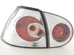 Rückleuchten Set Heckleuchten VW Golf 5 Typ 1K Bj. 03-08 chrom *gebraucht*