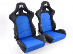 FK Sportsitze Auto Halbschalensitze Set Control in Motorsport-Optik